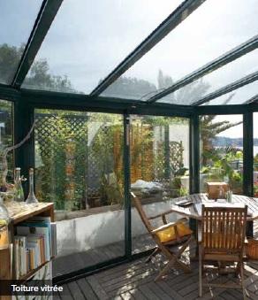 remplissage toiture veranda