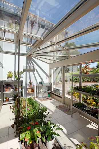 faire de sa veranda en aluminium un véritable potager
