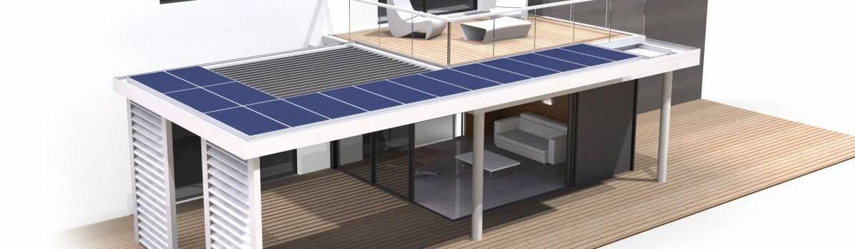 Extens'K e+ : véranda solaire eco-friendly